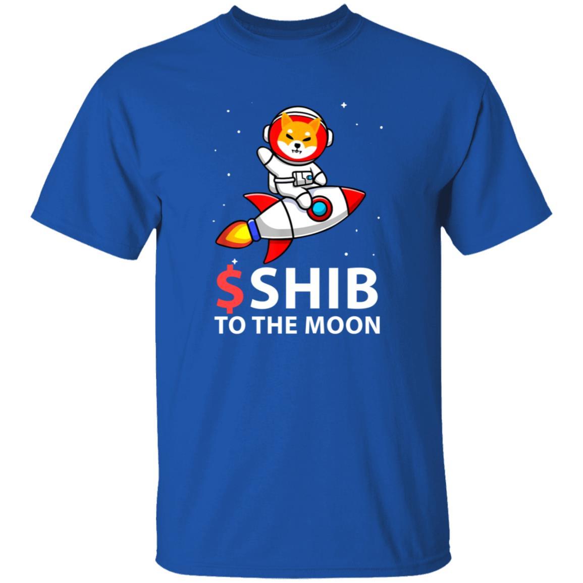$Shib To The Moon Shirt Hoodie Sweatshirt