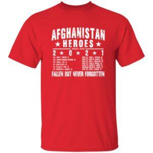 Ryan Weaver Afghanistan Heroes T Shirt Gritgear Store 13 Afghanistan Heroes Shirt