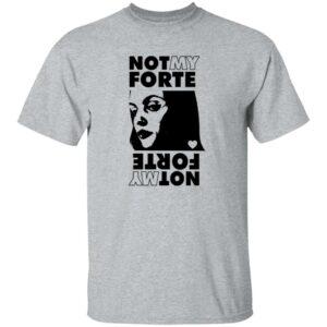 Not My Forte Shirt Letterkenny Shop Not My Forte Rock Grey Tee Shirt