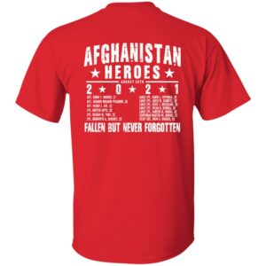 Real Heroes Don't Wear Capes Shirt  Ryan Weaver Afghanistan Heroes T Shirt Gritgear Store